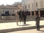 I Cavalieri del Piemonte in piazza Baracca