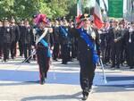 Il comandante provinciale Roberto De Cinti durante i festeggiamenti del 205° Annuale della fondazione dell'Arma dei Carabinieri