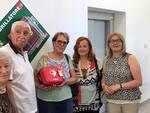Il defibrillatore alla scuola primaria di Conselice