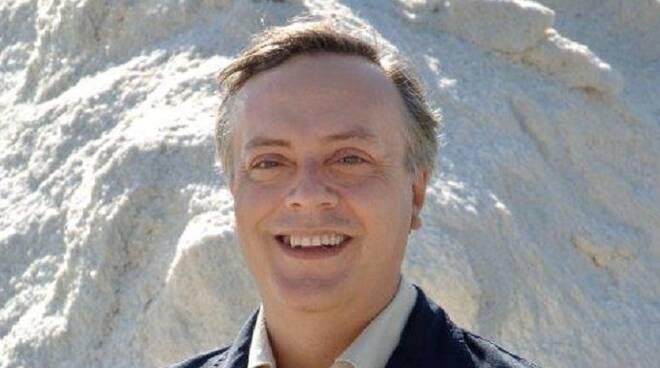 Il Presidente della Società Parco della Salina, Giuseppe Pomicetti