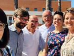 Il sindaco Riccardo Graziani con la nuova giunta