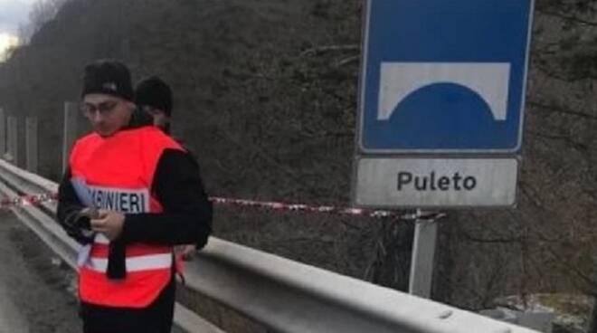 Il viadotto di Puleto, chiuso dalla Procura di Arezzo ai mezzi pesanti da ormai sei mesi (foto d'archivio)