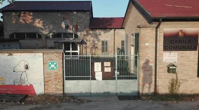 Ingresso del Canile municipale di Ravenna