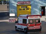 L'esterno del Pronto Soccorso dell'ospedale Bufalini di Cesena, dopo il 60enne è morto alcune ore dopo il ricovero