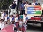 La premiazione del Pedale Azzurro Rinascita al Meeting Nazionale di Matera-Metaponto