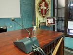 La sala del consiglio comunale