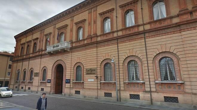 La sede della Fondazione Cassa di Risparmio di Ravenna, in piazza Garibaldi a Ravenna