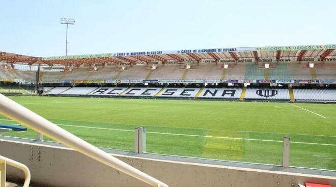 """Lo stadio """"Dino Manuzzi"""" di Cesena ospiterà le gare di Francia, Inghilterra e Romania (foto d'archivio)"""