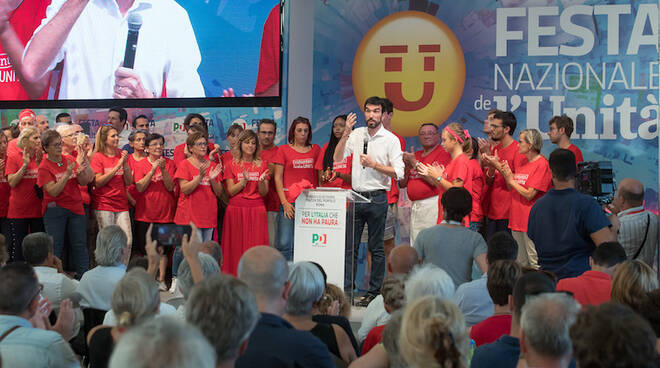 Maurizio Martina alla Festa nazionale de l'Unità 2018