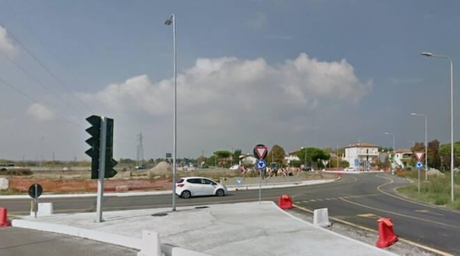 Rotonda delle Saline ( fonte Google maps)