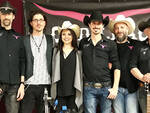 Sara Dall'Olio con la band