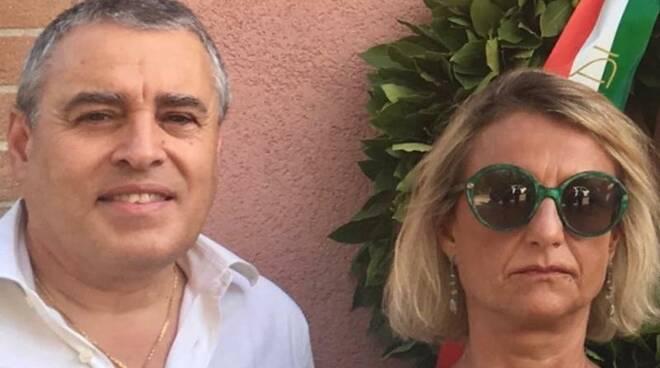 Stefano Ravaglia e Chiara Francesconi