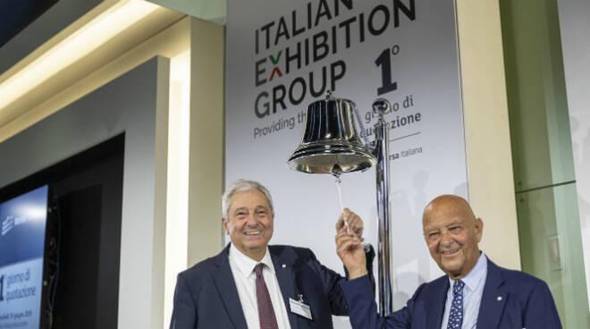 Ugo Ravanelli AD IEG e Lorenzo Cagnoni Presidente IEG
