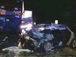 Un'immagine dell'incidente