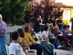 Un momento della Festa dei Vicini a Sant'Agata sul Santerno