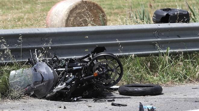 Una foto dell'incidente