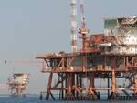 Una piattaforma per l'estrazione del gas