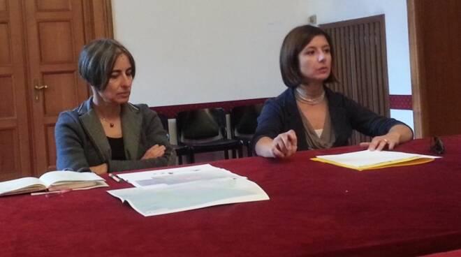 A sinistra, Anna Montini Assessore all'Ambiente di Rimini