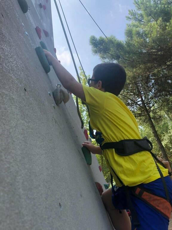 arrampicata giovani disabili