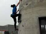 Astroclimbing alla Torre dell'Acquedotto di Ravenna