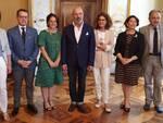 Bonacinni con i Prefetti di Bologna, Ferrara, Reggio Emilia, Modena, Rimini e Ravenna