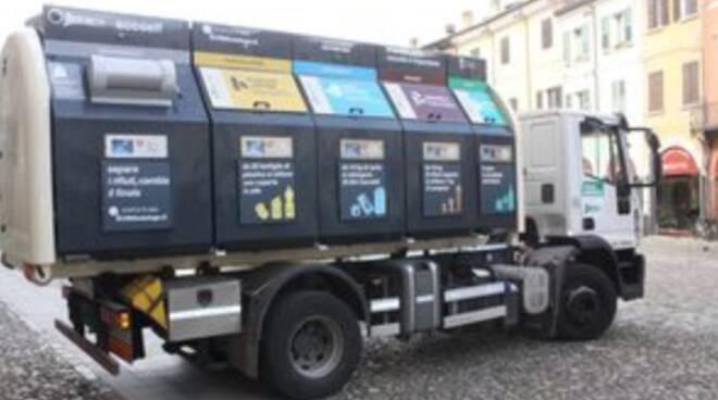 Cesena_ Sistema rifiuti ecoself