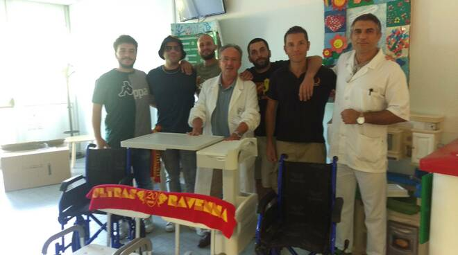 donazione pediatria ultras ravenna