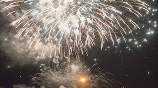 Fuochi d'artificio Sant'Apollinare 2019