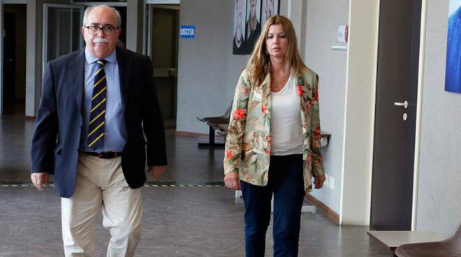 Il procuratore capo Alessandro Mancini e la sostituto procuratore Marilù Gattelli