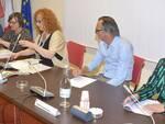 La giunta di Conselice nel corso della prima seduta del Consiglio comunale
