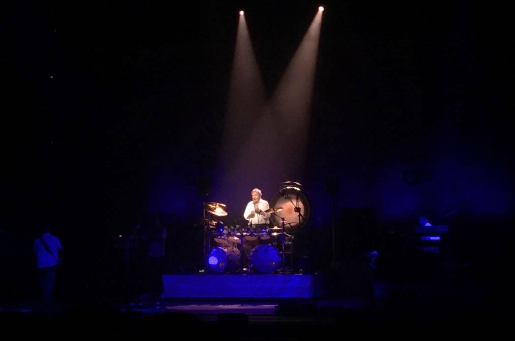 Nick Mason infiamma il Pala De André di Ravenna, nel nome dei primi Pink Floyd