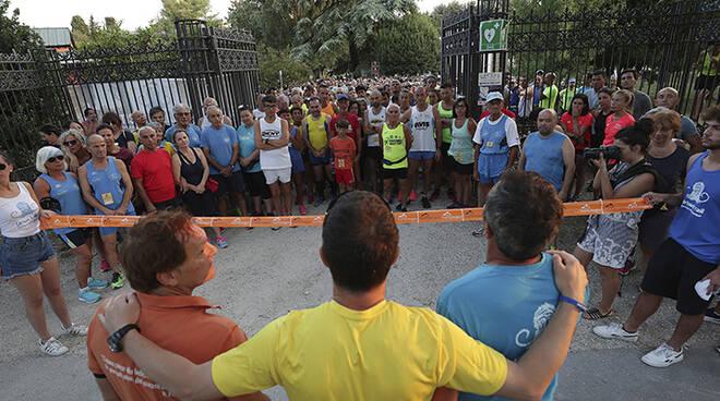 Partecipanti all'Urban Trail Ravenna Città d'Acque