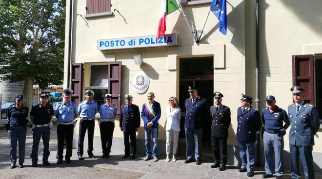 posto polizia ESTIVO - Cesenatico
