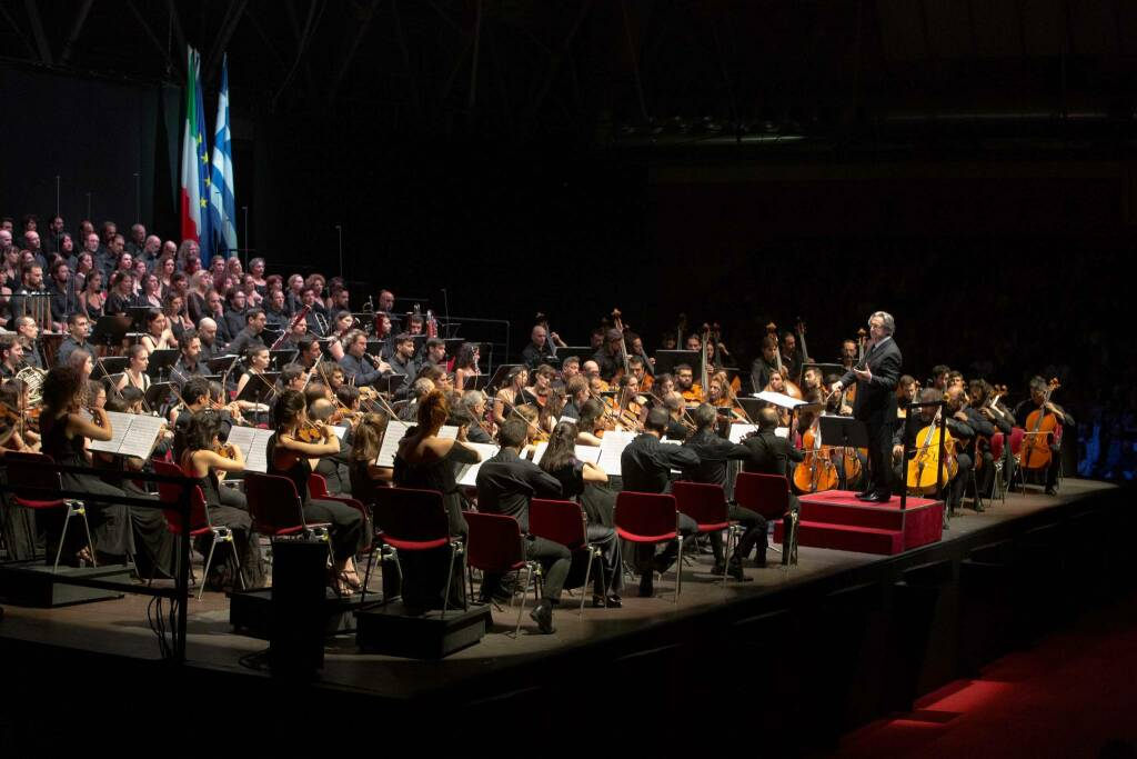 Riccardo Muti dirige la Nona di Beethoven al Pala De André - 11 luglio 2019