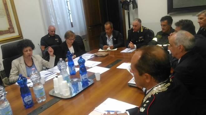rimini - comitato sicurezza publbica