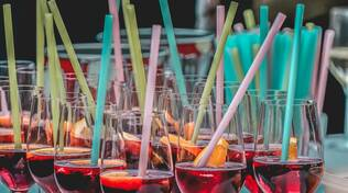 alcol bicchiere sangria