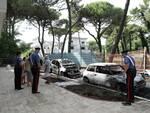 auto incendiate - Milano marittima