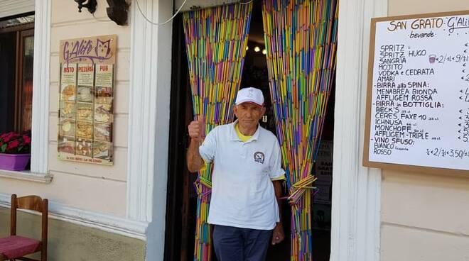 "In bicicletta da Russi a Saluggia: il 79enne ""Banafa"" arriva al traguardo - RavennaNotizie.it - ravennanotizie.it"