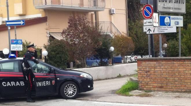 carabinieri lido di savio