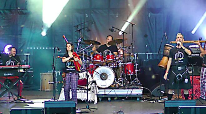 gruppo di musica folk & celtica Cisalpipers