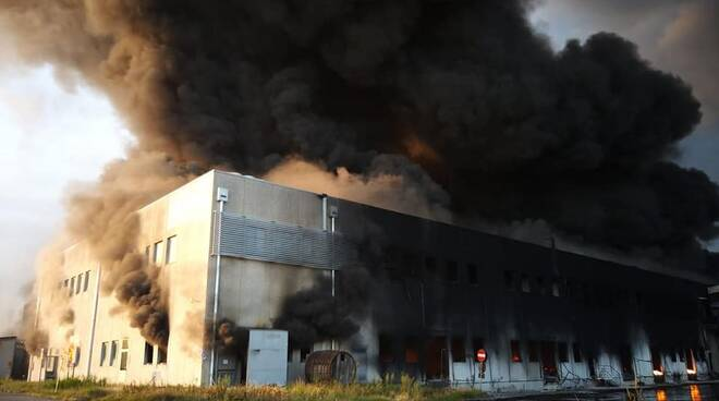 incendio lotras faenza