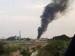 incendio zona industriale ravenna 31 agosto