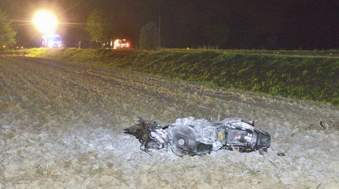 incidente mortale lugo - motociclista
