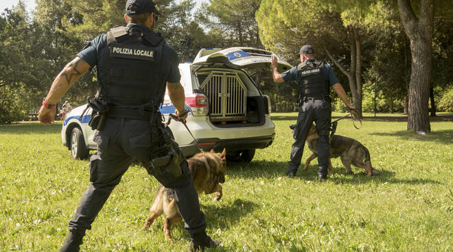 Operazione parchi Pm Rimini