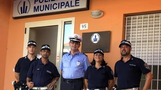 polizia locale agenti torinesi estate 2019