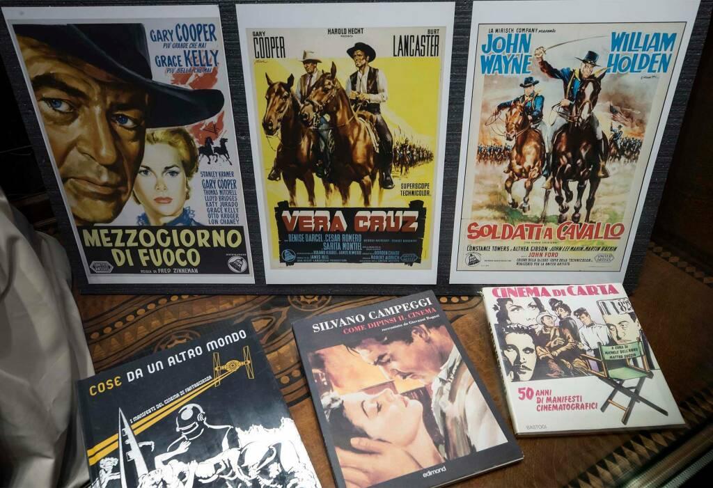 """Private Banking Cassa di Ravenna """"I manifesti italiani nel cinema americano"""""""