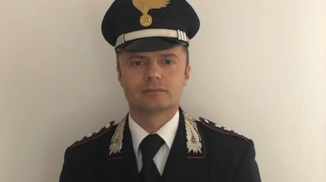 Cap Michele Fiorenzo Dileo, neo Comandante della Compagnia Carabinieri di Cervia-Milano Marittima.