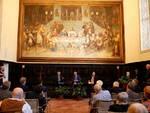 Dante2021 - Alla Sala Dantesca Antonio Patuelli e Enzo Moavero Milanesi