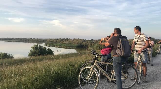 escursione, valle, pedalata, natura
