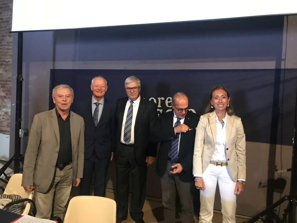 Firma per la costituzione dell'Associazione Europea delle Città del Sale